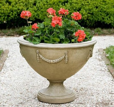 Cast Stone Williamsburg Neoclassic Urn