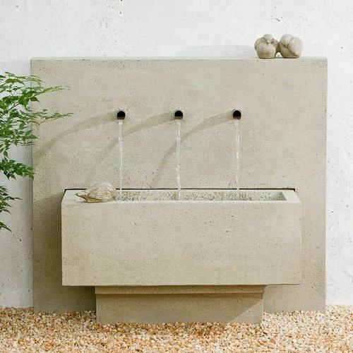 Cast Stone X3 Fountain