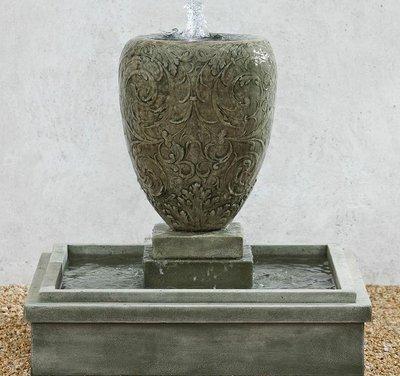 Cast Stone Longwood Arabesque Fountain