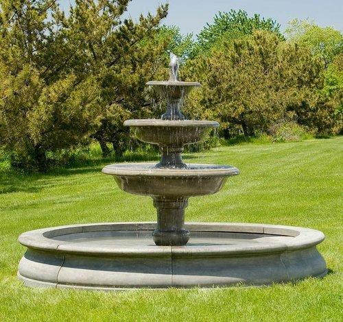 Cast Stone Newport Fountain