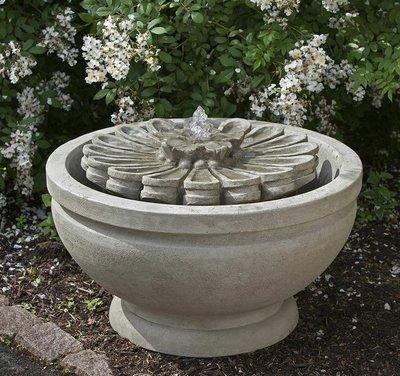 Cast Stone Fleur Fountain