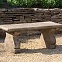 Cast Stone Provencal Bench