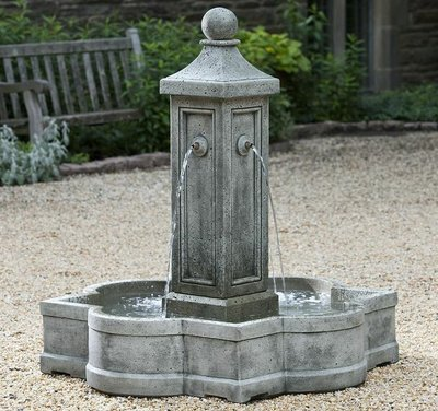 Cast Stone Provence Fountain