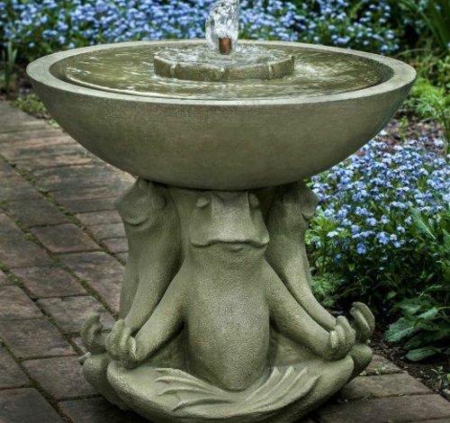 Cast Stone Zen III Fountain