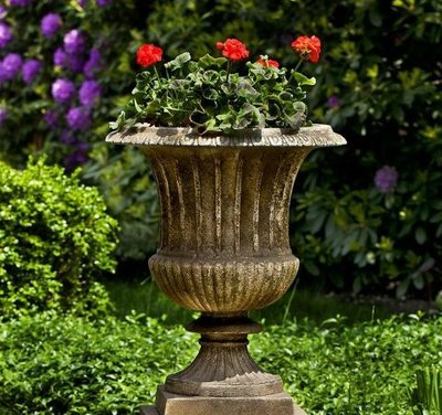 Cast Stone Smithsonian Classical Urn