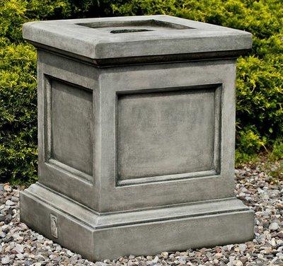 Cast Stone St. Louis Pedestal