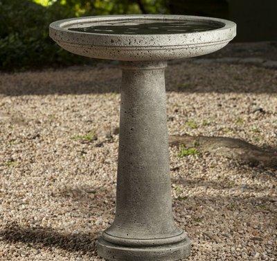 Cast Stone Isleboro Birdbath