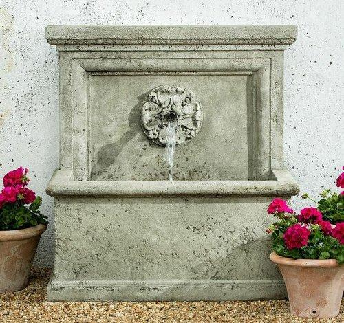 Cast Stone St. Aubin Fountain
