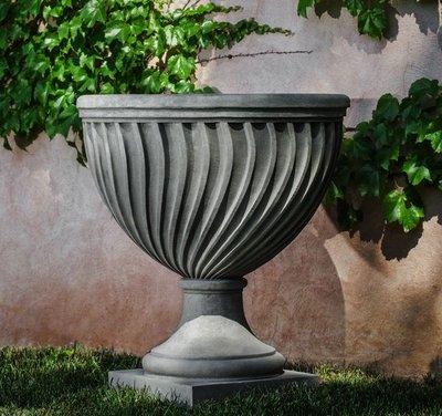 Cast Stone Quadrille Urn