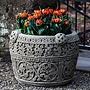 Cast Stone Antique Celtic Planter