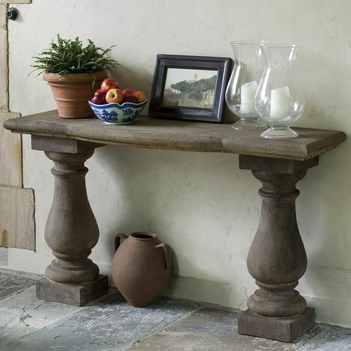 Cast Stone Vicenza Console Table