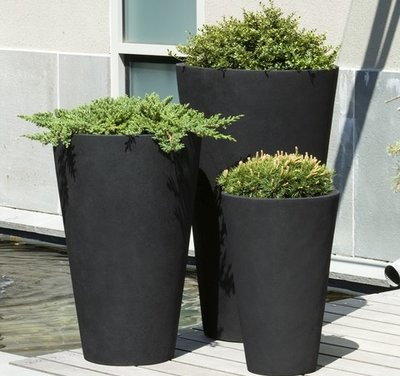 Fiberglass Vallarella Tall Planter