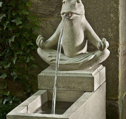 Cast Stone Zen Plinth Fountain