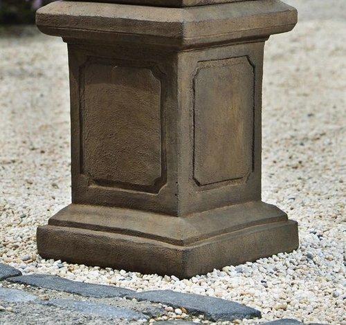 Cast Stone Large Square Frame Pedestal