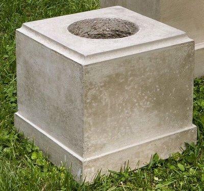 Cast Stone Classic Short Pedestal