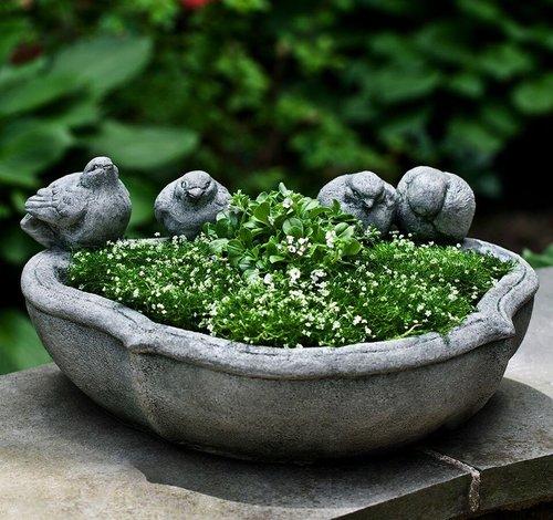 Cast Stone Alouette Planter