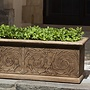 Cast Stone Arabesque Window Box