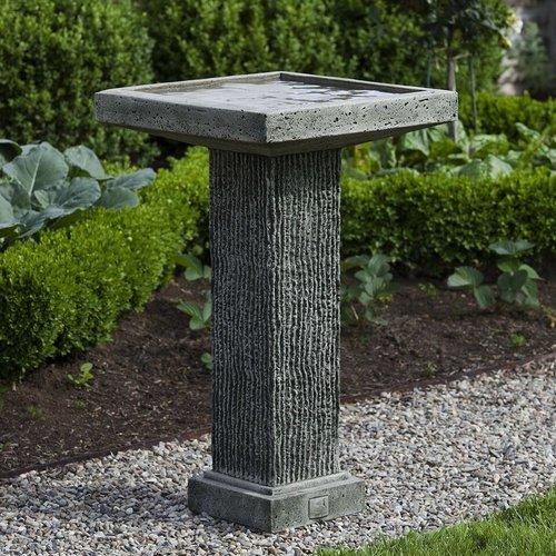 Cast Stone Reef Point Birdbath
