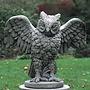 Cast Stone Soaring Owl
