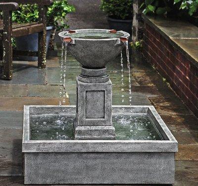 Cast Stone Rittenhouse Fountain