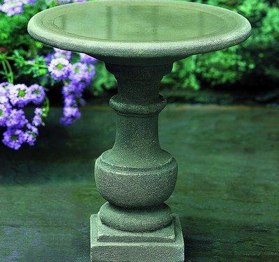 Cast Stone Siena Birdbath