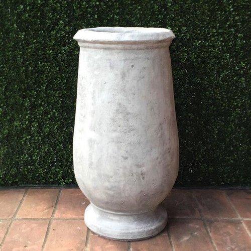 Cast Stone Biot Jar