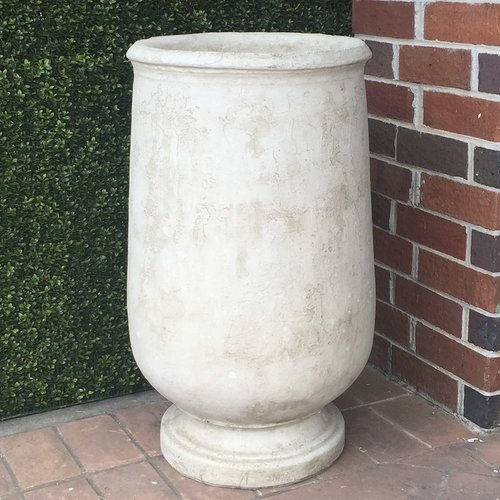 Cast Stone Large Biot Jar