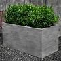 Cast Stone Chenes Brut Long Box Planter