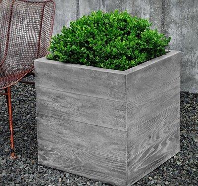 Cast Stone Chenes Brut Large Box Planter