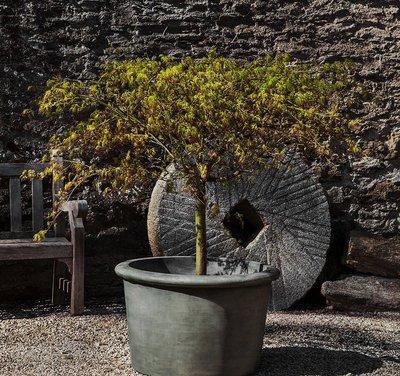 Cast Stone Palo Alto Low Planter