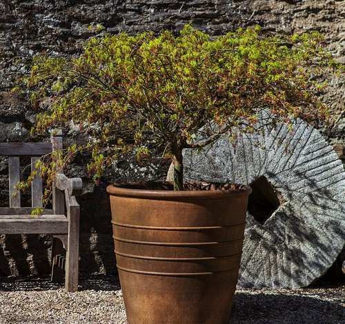 Cast Stone Mill Valley Planter