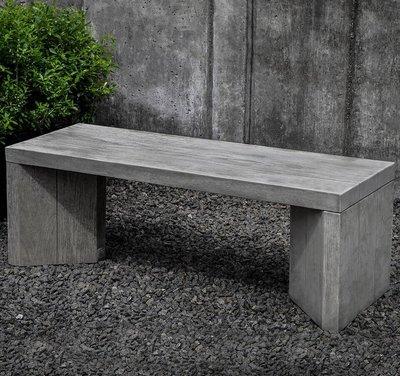 Cast Stone Chenes Brut Bench