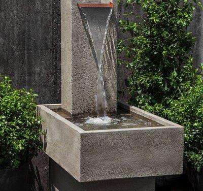 Cast Stone Falling Water Fountain III