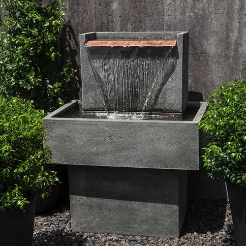 Cast Stone Falling Water Fountain I