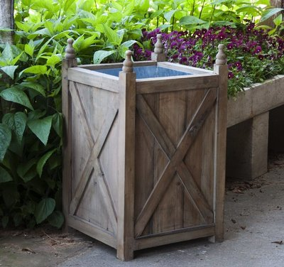 Outdoor Accessories Reclaimed Wood Estate Box