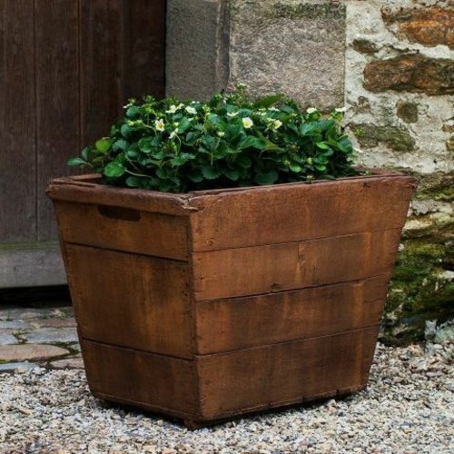 Cast Stone Large Vendange Planter