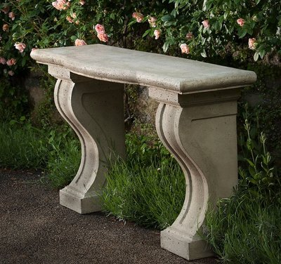 Cast Stone Loire Console Table