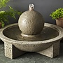 Cast Stone Sphere Fountain