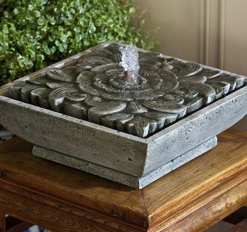 Cast Stone Artifact Fountain