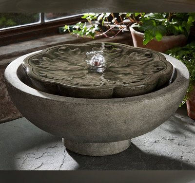 Cast Stone Flores Fountain
