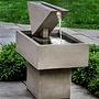 Cast Stone Triad Fountain