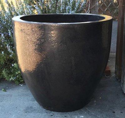 Glazed Luna Egg Planter