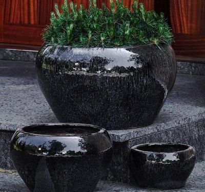 Glazed Maia Planter Set of Three