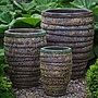 Glazed Guaracha Planter Set of Three