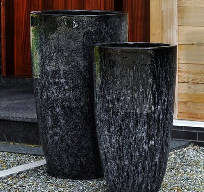 Glazed Orion Planter Set of Two