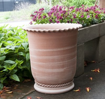 Italian Terracotta Border Rope Planter