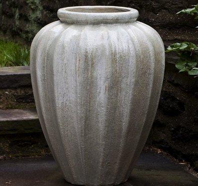 Glazed Edo Jar