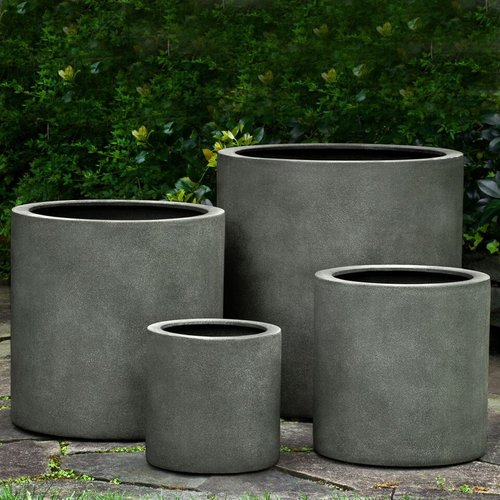 Fiberglass Morley Planter Set of Four
