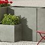 Fiberglass Tall Lite Rectangle Planter