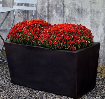 Cast Stone Davos Rectangle Planter